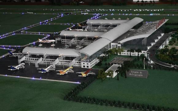 Novo aeroporto internacional de Luanda. Ampe Rogério/RA