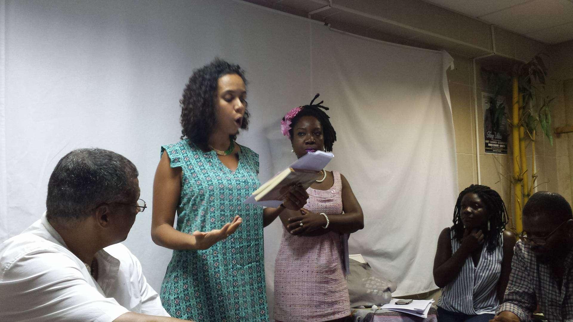 Maíra Zenun e Luzia Gomes no Djidiu_ Amarílis Borges